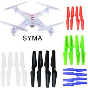 Fuer Syma X5 X5C Propeller Protektoren Klingen Rahmen Ersatzteil X5-03 Weis JKSY