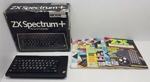 Sinclair-Spectrum-Boxed-with-loads-of-magazines-Needs-repair-WorldwideShip
