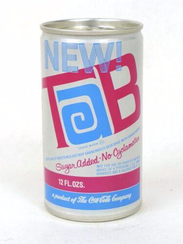 1970 New Tab No Cyclamates Coca Cola Daytona Beach Florida Aluminum can