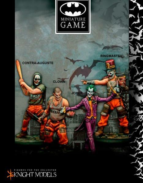 Batman Miniature Game  Joker's Crew Knight Models New