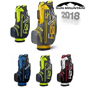 SUN-MOUNTAIN-H2NO-SUPERLITE-WATERPROOF-GOLF-CART-TROLLEY-BAG