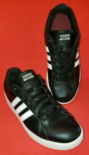 Adidas Cloudfoam Advantage Men's Lifestyle Fashion 10M Black with 3 White  Stripe