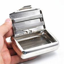 1 x Portable Metal Cigarette Tobacco Box For 70 mm Cigarette Paper storage case