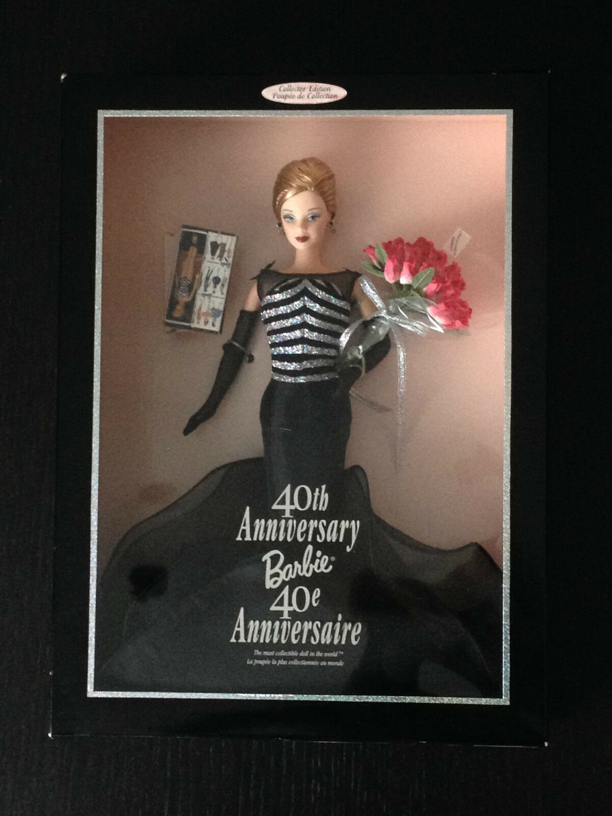 BARBIE DOLL MATTEL - 40 TH ANNIVERSARY - 40 ANIVERSARIO - 1999 -NEW IN BOX 21384