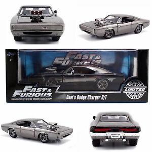 Fast & Furious Dodge Charger R / t Chrome Limitée 1:24 miniature Jada 97443