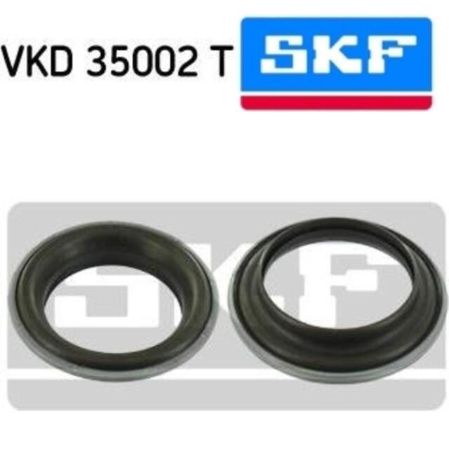 2x SKF Wälzlager für Federbeinstützlager Domlager CITROËN VKD35002T