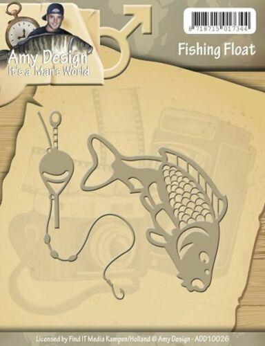ADD10026 Fishing Float Angeln gehen Stanzschablone  von Amy Design