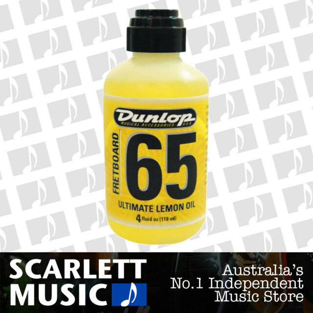 Jim Dunlop Fretboard 65 Ultimate Lemon Oil 118 mL Guitar Cleaner J6544