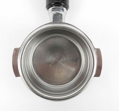 Bodenloser Siebträger für QUICKMILL-Espressomaschinen 21g Sieb 3 Tassen