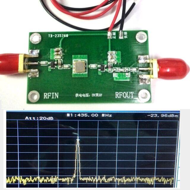 10KHz-1000MHz 1GHZ Broadband RF Receiver Shortwave VHF UHF FM Signal Amplifier