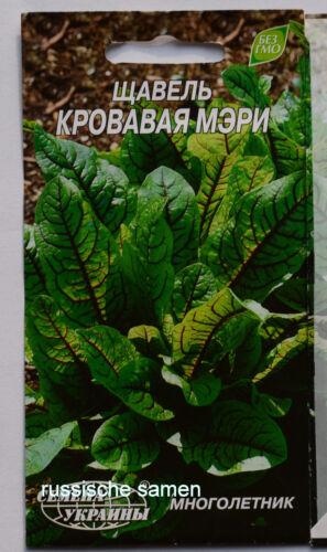 OVP 0,1 Gr.,Mehrjahrig зеленый борщ ROTER BLUTAMPFER SAUERAMPFER