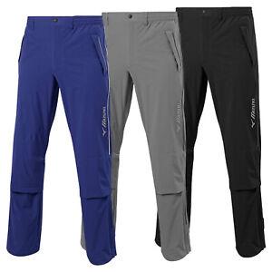 MIZUNO-Uomo-Impermalite-F20-Impermeabile-Pioggia-Pantaloni-Leggero-Pantalone-Da-Golf