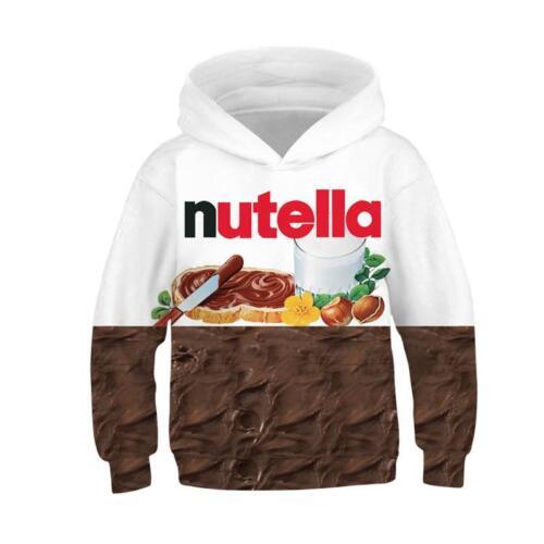 Kids Boys//Girls Ramen Noodle 3D Print Hoodie Sweatshirt Pullover Jumper Coat New