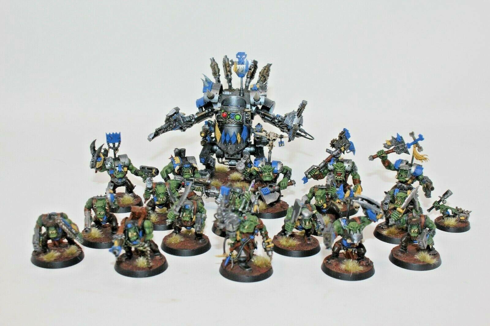 prezzi eccellenti Warhammer Warhammer Warhammer Orks Estrellat Collecting Force Well Painted  designer online