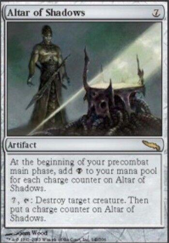 4 Altar of Shadows ~ Near Mint Mirrodin 4x x4 Playset UltimateMTG Magic Artifact