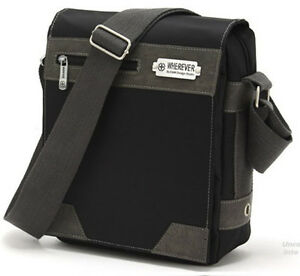 Waterproof-Men-039-s-Practical-Travel-Shoulder-Bag-Message-Bags-Casual-Black-MM41