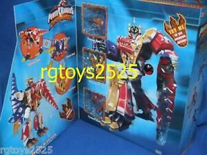 Power Rangers Dino Thunder Deluxe Thundersaurus Megazord scellé à l'usine 2003 45557107819