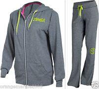 Zumba Fitness 2 Pc.set Track Pants & Jacket Hoodie U.k Harrodssold Out & Hot