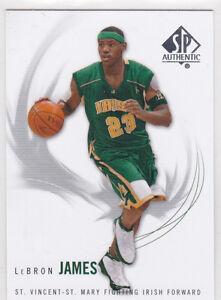 d8e0130fb0c Image is loading Lebron-James-SP-AUTHENTIC-IRISH-High-School-Basketball-
