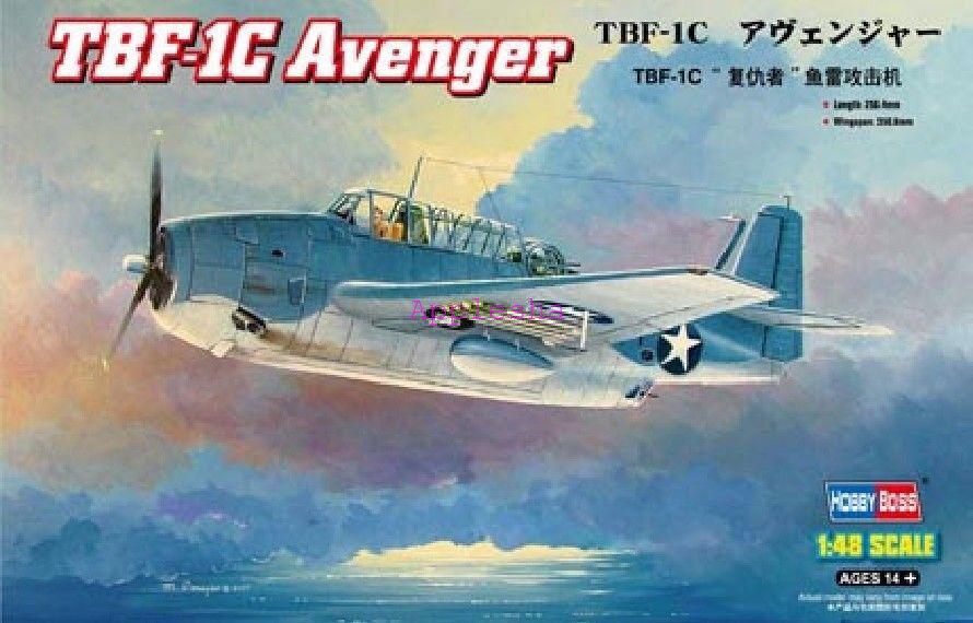 Hobbyboss 80314 1 48 TBF-1C Avenger