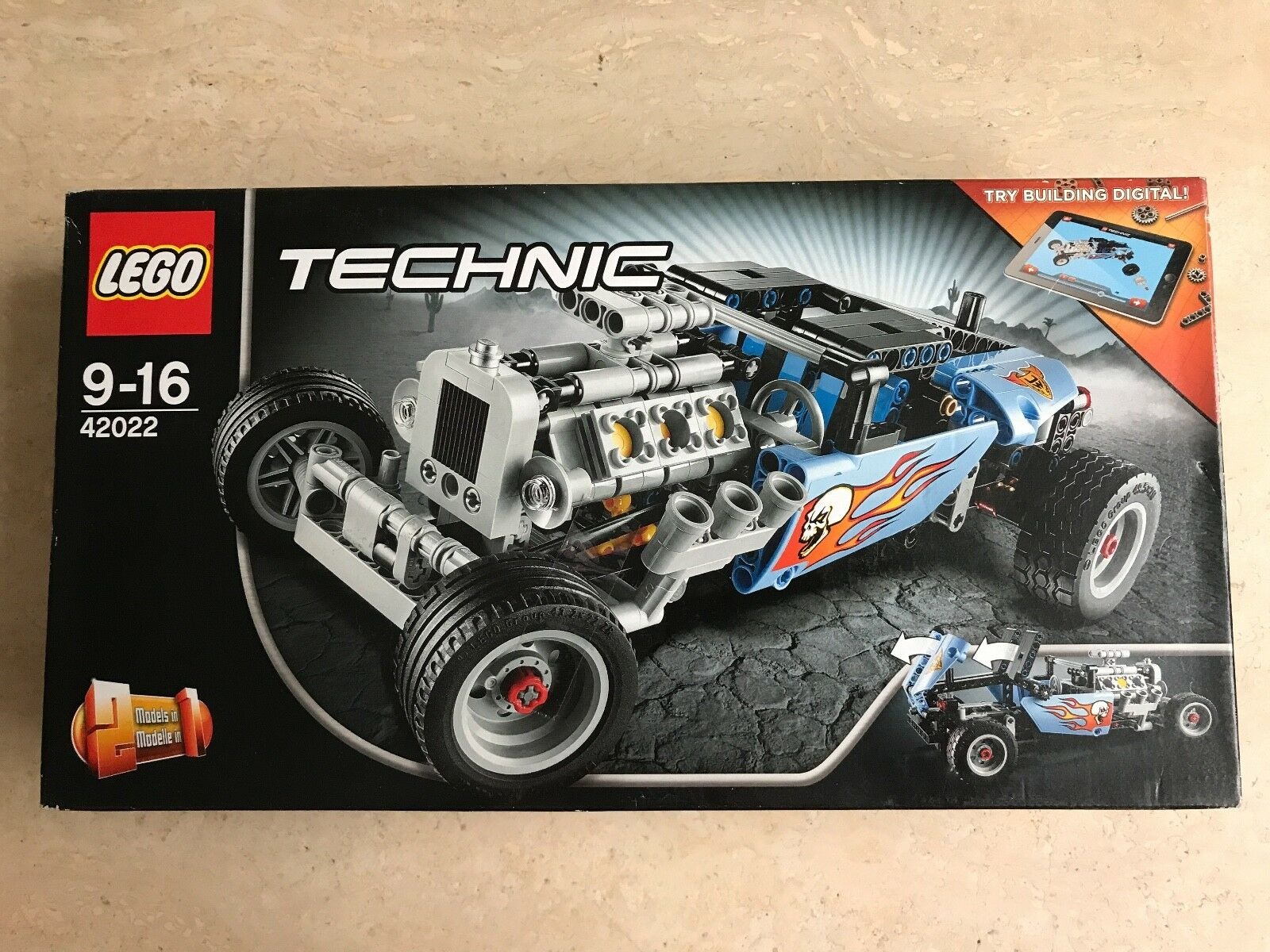 JEU  LEGO TECHNIC  -  LE HOT ROD  - 42022