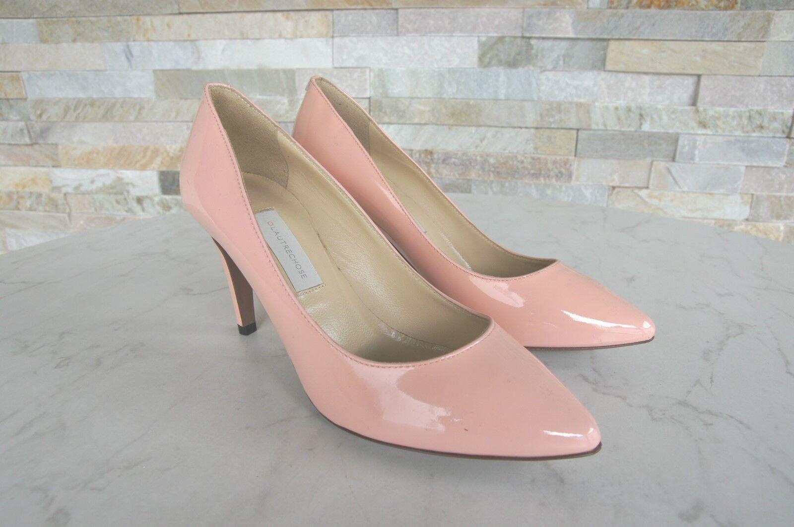 Original L'AUTRE CHOSE 36 Escarpins Vernis Talons Chaussures Rose Rose Rose Neuf e1b877