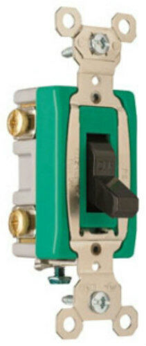 Pass  U0026 Seymour Brown Quiet Toggle Wall Light Switch 30a