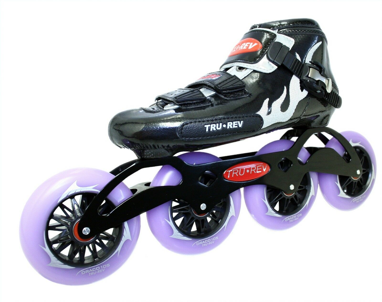 Inline Speed Skates by Trurev. 3 or 4 wheel skate frame,ceramic bearings