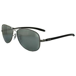 145f3713e97 ... where can i buy image is loading ray ban sunglasses 8301 004 k6 shiny  gunmetal a8b62