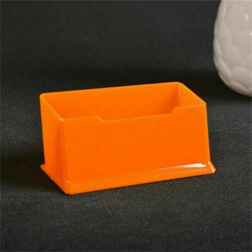 Fach Visitenkartenständer aus Acrylglas Visitenkarten Visitenkartenhalter 1tlg