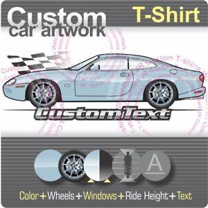 Image Is Loading Custom T Shirt 1996 2001 2006 Jaguar Xk8