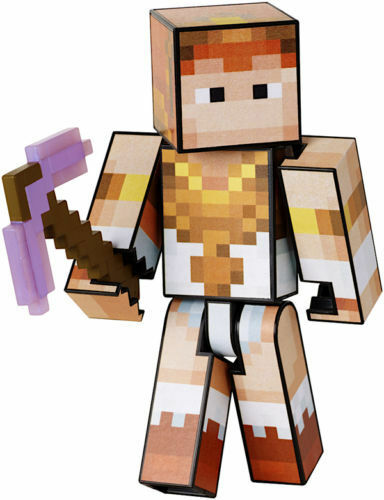 Sdcc Mattel Minecraft Survival Mode Player One Sdcc Teela Skin 2016