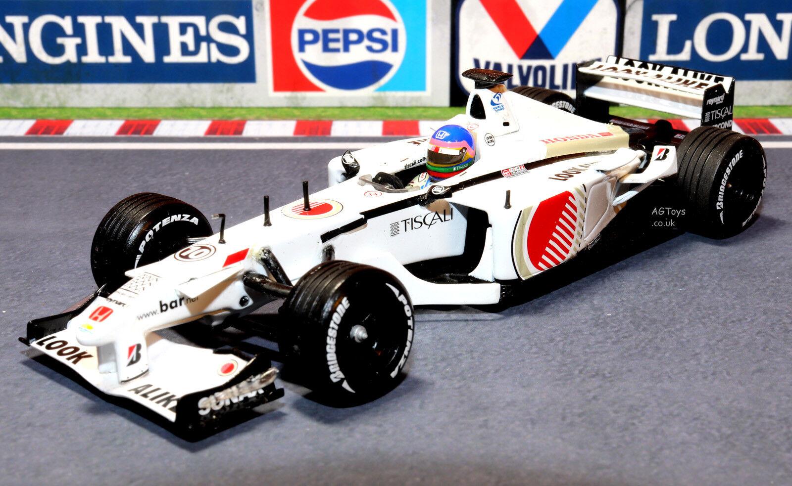 BAR Honda 03 F1 Formula One J.Villeneuve 1 43 Pauls Model Art Minichamps Car