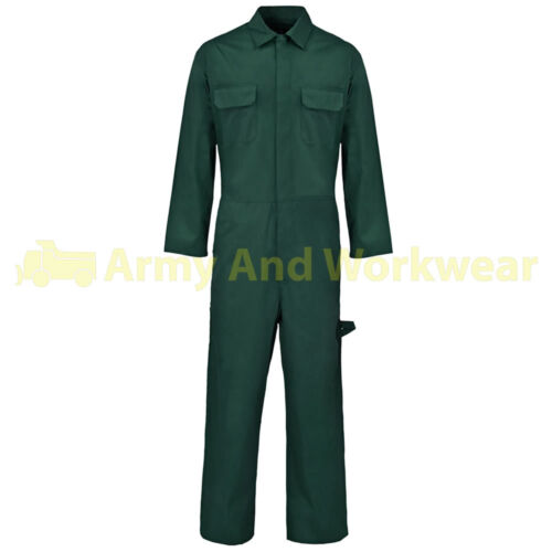 210 Grams Coverall Tuff Pro Overall Boiler Suits Boilersuit Work Polycotton Mens
