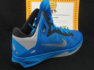 best service cdd1b b11a2 Image is loading Nike-Zoom-Hyperchaos-Photo-Blue-Wolf-Grey-Black-