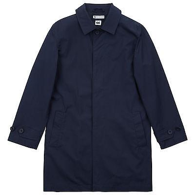 Community Clothing Men's Navy Raincoat