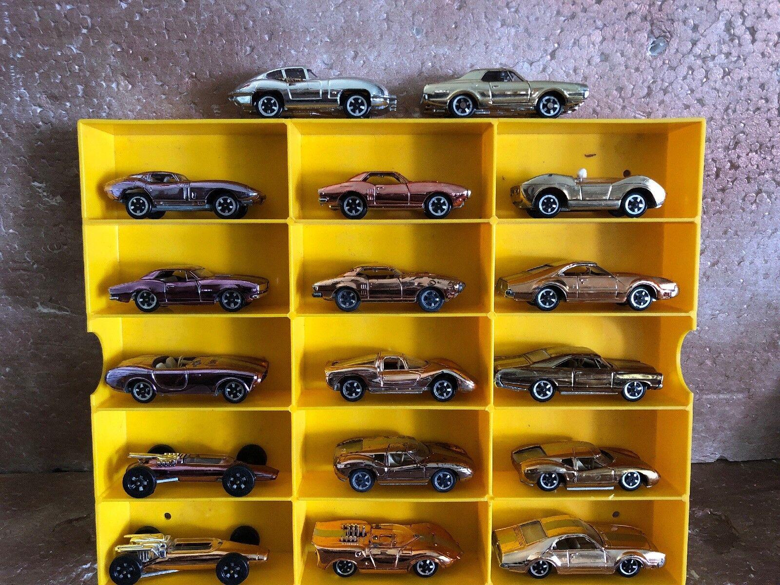 Huge lot of 17 AURORA CIGAR BOX CARS cougar CAMARO firebird FORMULA 1 jaguar
