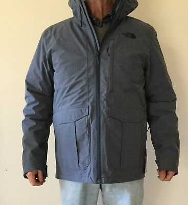929fbeb72 North Face Men's Cross Boroughs Triclimate Jacket Med Urban Navy ...