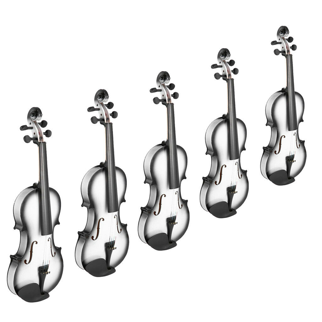 4 4 3 4 1 2 1 4 1 8 Violin + Case + Bow + Rosin for Beginners Practicing