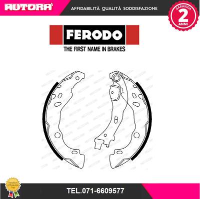 confezione 4 pezzi Ferodo FSB657 Premier Kit Ganasce Freno