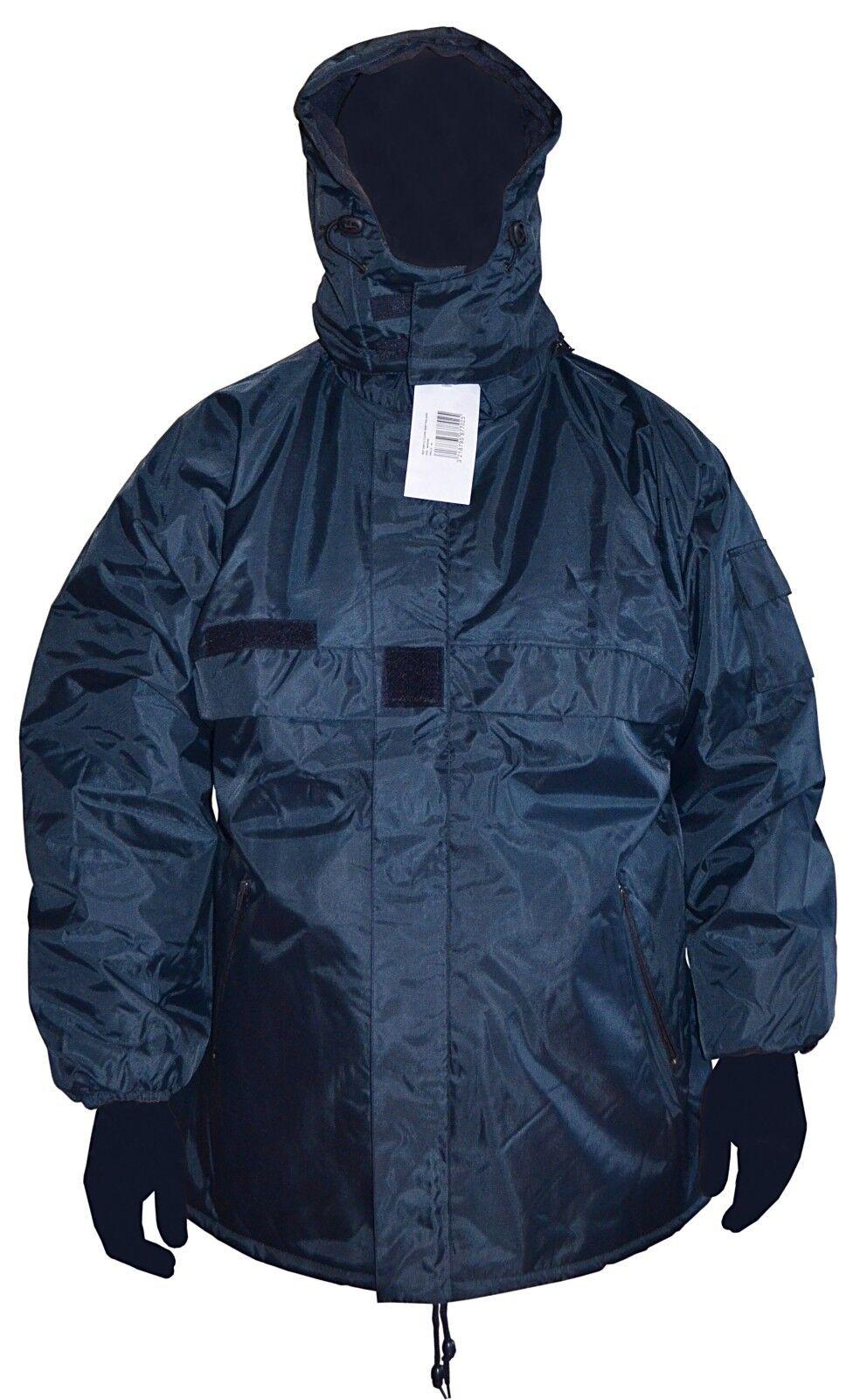 Blouson Parka coupe vent doublé polaire avec capuche amovible - size XXL NEUF