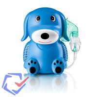 Blue Puppy Professional Nebuliser Inhaler Inhalator For Children Kids Certified