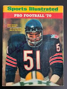 Dick butkus cover sports illustrated