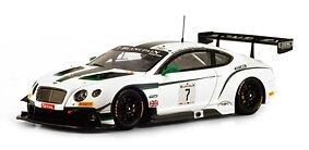Bentley gt3 whitepain GT total 24h Spa 2014 1 43 Model True Scale Miniatures