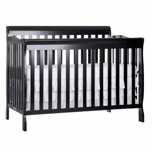 5 In 1 Convertible Baby Crib Toddler Nursery Bed Side Dream On Me Ebay