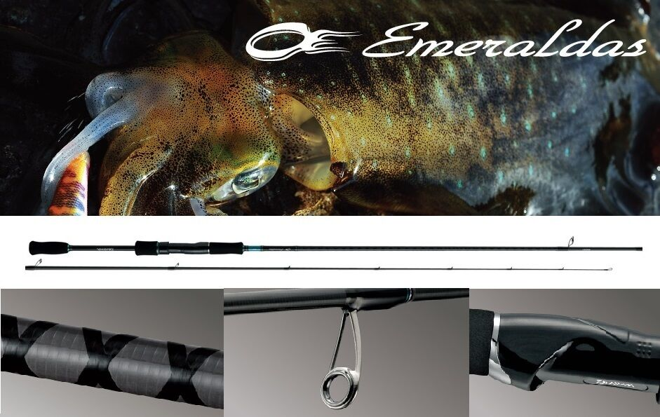 Daiwa Emeraldas OUTGUIDE MODEL 80M for EGI Squid Fishing Rod  New