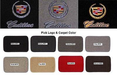 Lloyd Mats Cadillac Crest & Word Classic Loop Front Floor Mats (2002-2014)