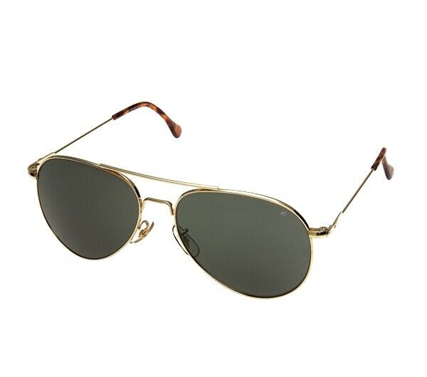 American Optics 58MM gold Sunglasses - 10702   buy 100% authentic quality