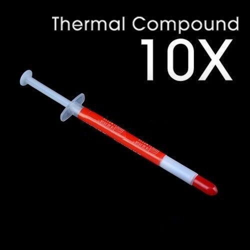 10pcs Thermal Grease Paste Compound Silicone Heatsink Syringe For CPU VGA GPU JB