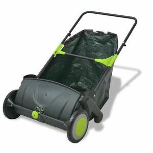 vidaXL-Outdoor-Garden-Power-Lawn-Sweeper-Leaf-Grass-Collector-Remover-103-L